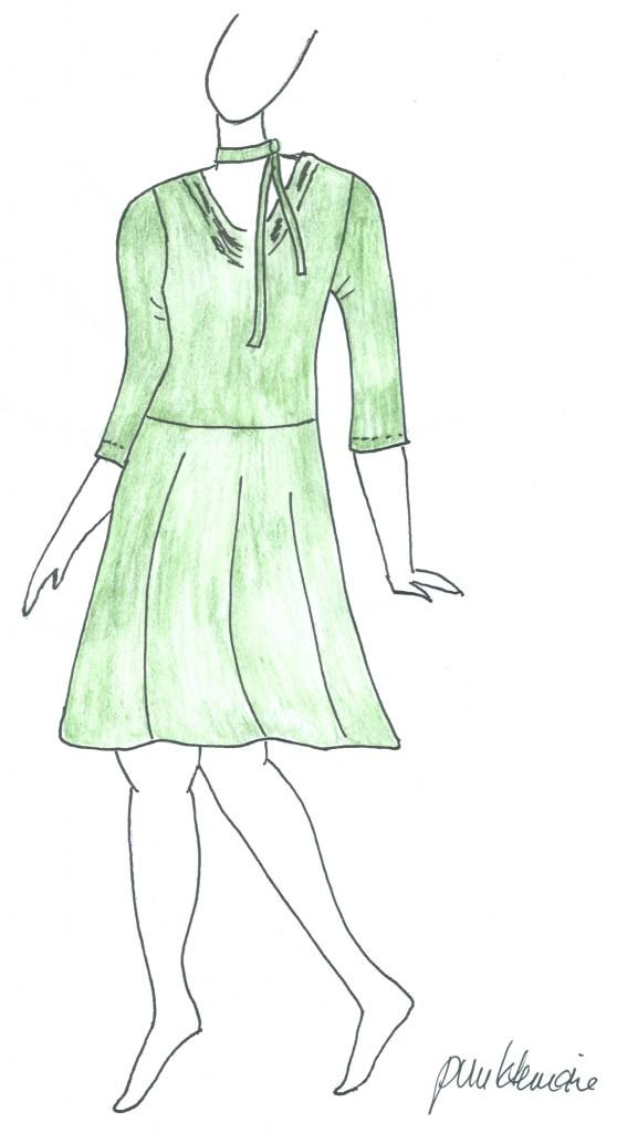 Grünes_Kleid