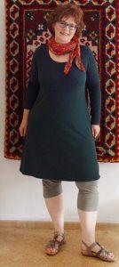 rosa p.-Kleid, Sommertuch